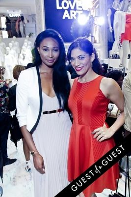 nana merriweather in Jeff Koons for H&M Launch Party