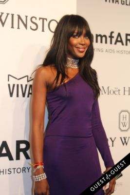 naomi campbell in amfAR Gala New York