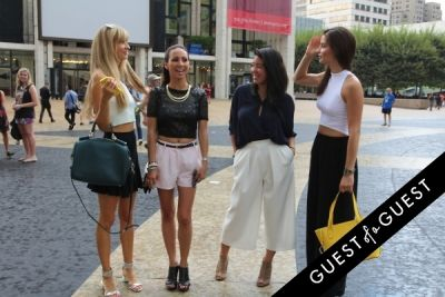 natalie decleve in NYFW Style From the Tents: Street Style Day 3