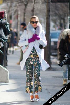 natalie joos in NYFW Street Style Day 4