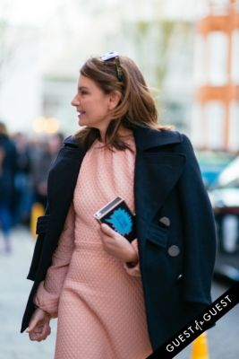 natalie massenet in London Fashion Week Pt 1