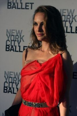 natalie portman in New York City Ballet Spring Gala