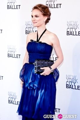 natalie portman in New York City Ballet's Spring Gala
