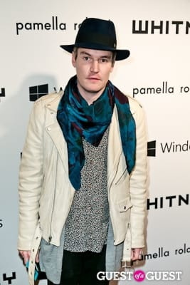 nate lowman in Whitney Museum of American Art's 2012 Studio Party