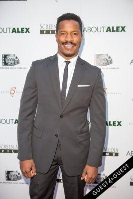 nate parker in Los Angeles Premiere of ABOUT ALEX
