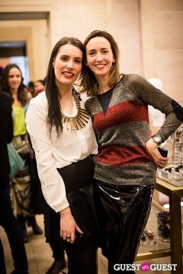 nathalie gaveau in Shopcade New App Launch at Henri Bendel