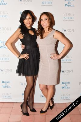 neisa baksh in The 4th Annual Silver & Gold Winter Party to Benefit Roots & Wings