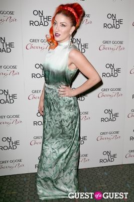 neon hitch in NY Premiere of ON THE ROAD