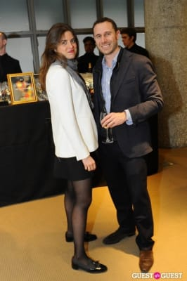 guy shapira in IvyConnect NYC Presents Sotheby's Gallery Reception
