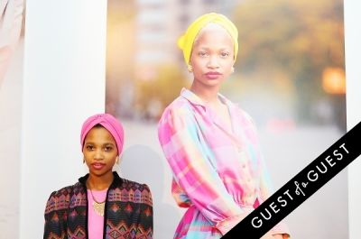 layla qassim in Refinery 29 Style Stalking Book Release Party