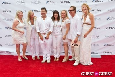 nick arquette in Walk With Sally's 7th Annual White Light White Night