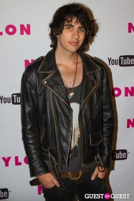 nick simmons in NYLON May Young Hollywood Issue Celebration