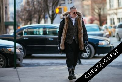 nick wooster in NYFW Street Style Day 4
