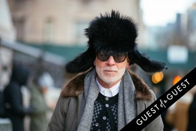 nick wooster in NYFW Street Style Day 5
