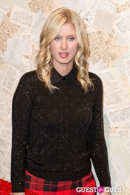 nicky hilton in Alice and Olivia Presentation