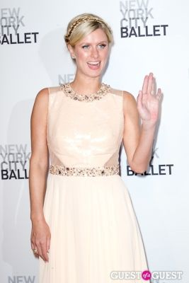 nicky hilton in New York City Ballet's Fall Gala