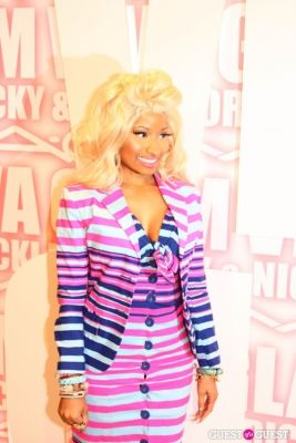 nicky minaj in MAC Viva Glam Launch with Nicki Minaj and Ricky Martin