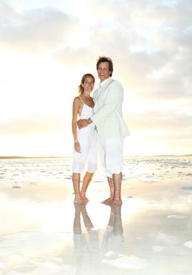 nicole hanley in Nicole Hanley And Matthew Mellon's Wedding