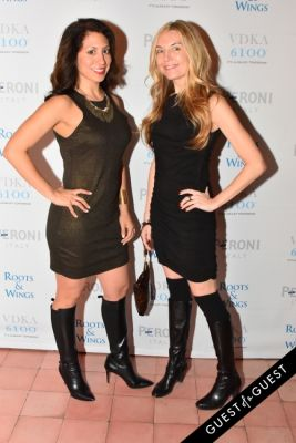 nicole hernandez in The 4th Annual Silver & Gold Winter Party to Benefit Roots & Wings