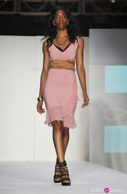 nikki blaine-couture in NY Fame Fashion Week Charity Benefit