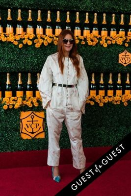 nikki pennie in The Sixth Annual Veuve Clicquot Polo Classic Red Carpet