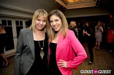 nikki schwab in Vogue and Net-A-Porter 12-12-12 Party