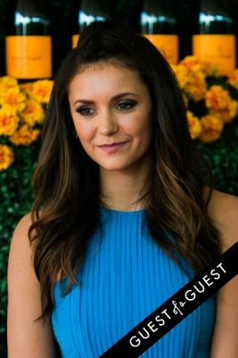 nina dobrev in The Sixth Annual Veuve Clicquot Polo Classic Red Carpet