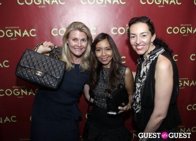 nina junot in Brasserie Cognac East Opening