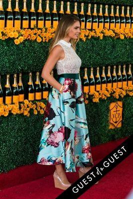 nina senicar in The Sixth Annual Veuve Clicquot Polo Classic Red Carpet