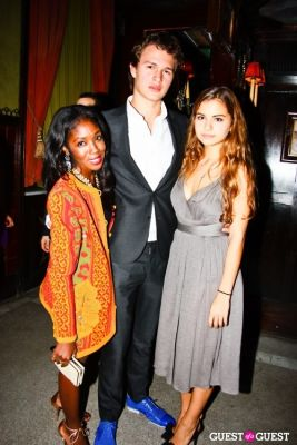 ansel elgort in The Junior Society of Ballet Hispanico Presents Dance into Fashion