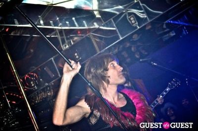 noah wallace in Hammered Satin's Record Release Party w/Hammered Satin/The Blessings/E*Lux