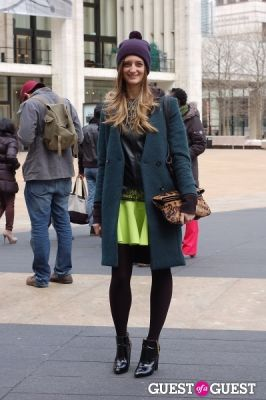noelle sciacca in NYFW Style From the Tents: Street Style Day 1