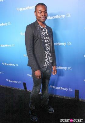 odain watson in BlackBerry Z10 Launch