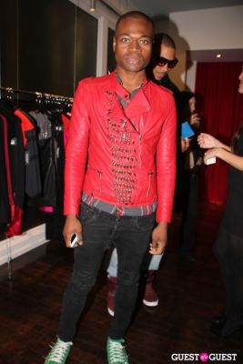 odain watson in StyleHaus and Frederic Fekkai Holiday Event
