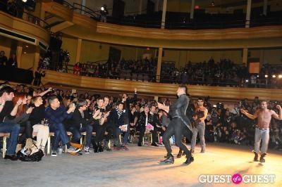 official hank in Richie Rich's NYFW runway show