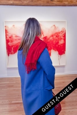 olga cherkasskaya in ART Now: PeterGronquis The Great Escape opening