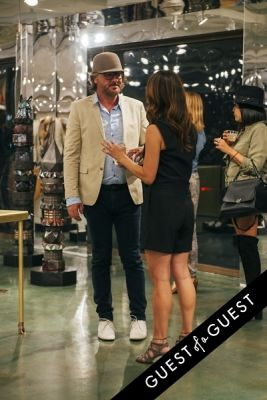 oliver wilson in Kelly Lamb DOMESTICATED ANIMALS VIP Preview at The MOCA Store
