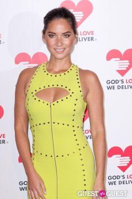 olivia munn in God's Love We Deliver 2013 Golden Heart Awards