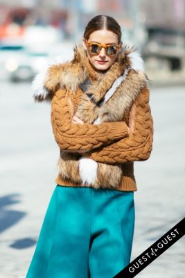 olivia palermo in NYFW Street Style Day 7