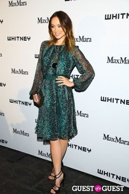 olivia wilde in 2013 Whitney Art Party