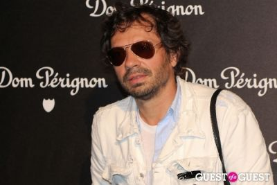 olivier zahm in Dom Perignon & Jeff Koons Launch Party