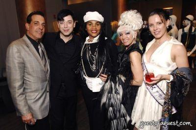 cognac wellerlane in DEPESHA Magazine Designer Fashion Show with Amanda Lepore