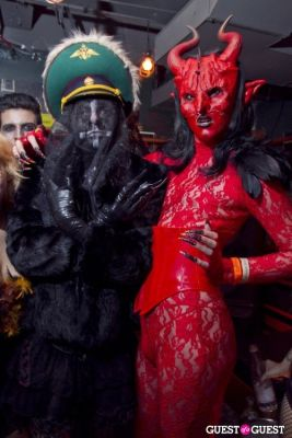 pj williams in Bloody Burlesque Halloween Ball