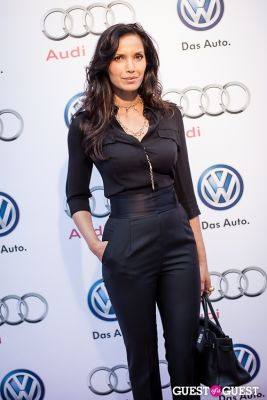 padma lakshmi in Volkswagen & Audi Manhattan Dealership Grand Opening