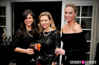 michelle cascone in Vogue and Net-A-Porter 12-12-12 Party