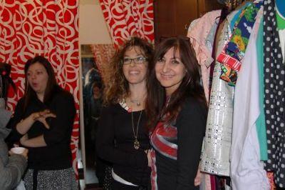 pamela talisse in Lois Eastlund's LES Boutique Opening