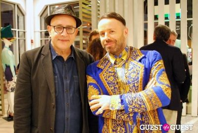 paper magazine-founder-david-hershkovits--left- in United Colors of Benetton and PAPER Magazine celebrate the launch of new Benetton