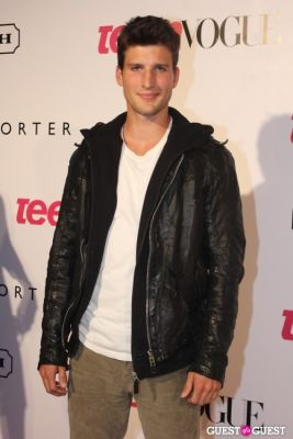 parker young in 9th Annual Teen Vogue 'Young Hollywood' Party Sponsored by Coach (At Paramount Studios New York City Street Back Lot)