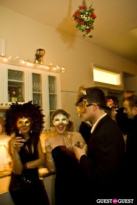 pascale goldenstein in Annual Blacktie Christmas Masquerade