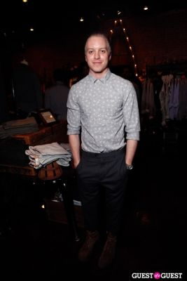 patrice dugan in Onassis Clothing and Refinery29 Gent's Night Out